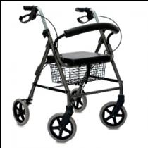 Andadera con asiento y ruedas