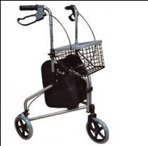Andadera de 3 ruedas