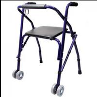 Andadera con ruedas estándar