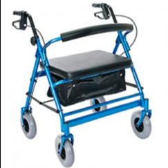 Andadera bariátrica con ruedas