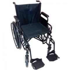 Silla de ruedas con asiento de 22″