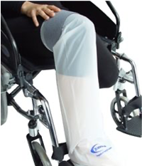 Bolsa impermeable para pierna con yeso